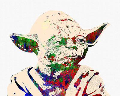 Fantasy Digital Art - Star Wars by Elena Kosvincheva