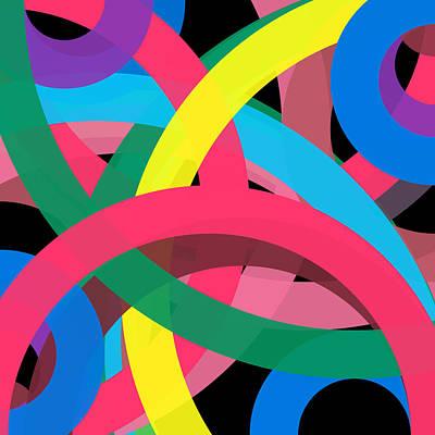 Drawing - 17711 - Phi Word Circle by REVAD David Riley