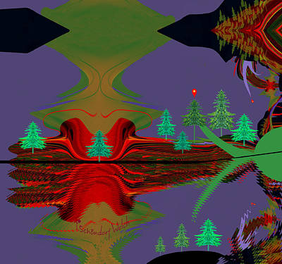 Digital Art - 1778 - Magic Land by Irmgard Schoendorf Welch