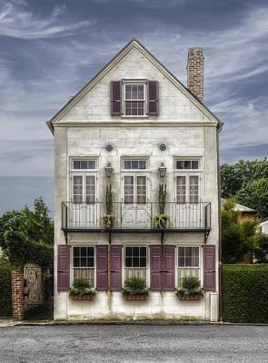 Photograph - 1780 Charleston South Carolina Home - 1 by Frank J Benz