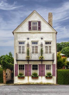 Photograph - 1780 Charleston South Carolina Home - 2 by Frank J Benz