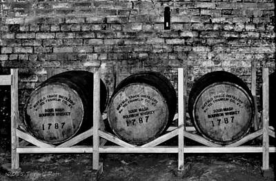 Photograph - 1787 Whiskey Barrels by Tara Potts