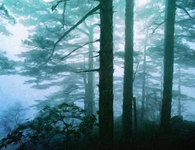Landscape Painting - Nature Art Landscape by Margaret J Rocha