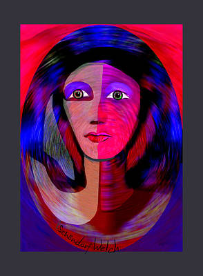 Digital Art - 1790 - Once I Was A Slave In Old Egypt -  2017 by Irmgard Schoendorf Welch