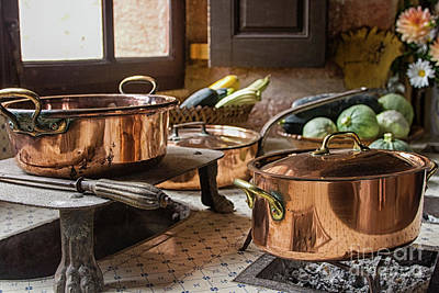Photograph - 17th Century Cooking by Patricia Hofmeester