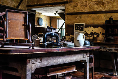 Photograph - 17th Century Kitchen by Nick Bywater