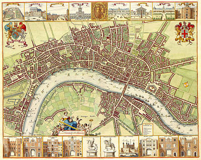 Painting - 17th Century London by Gary Grayson
