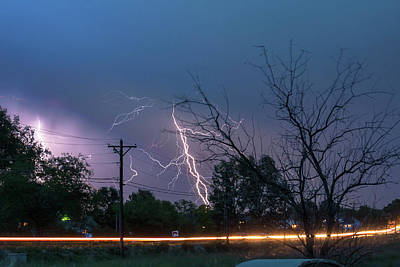 Energy Photograph - 17th Street Thunder And Lightning by James BO Insogna