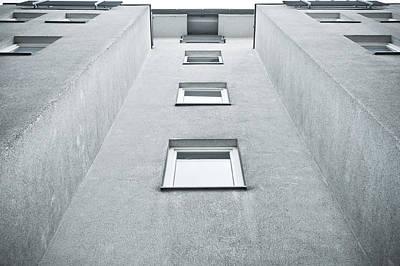 Apartment Building Art Print by Tom Gowanlock