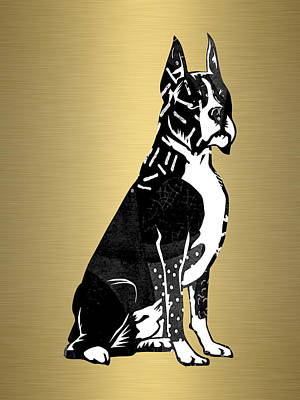 Pet Mixed Media - Boxer Collection by Marvin Blaine