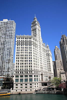 Photograph - Chicago Skyscrapers by Frank Romeo