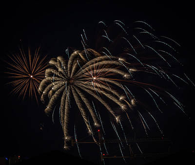 Photograph - Fireworks 2015 Sarasota 20 by Richard Goldman