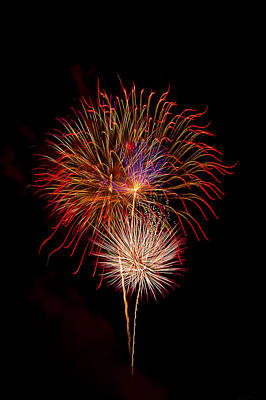 Photograph - Fireworks by Kay Brewer