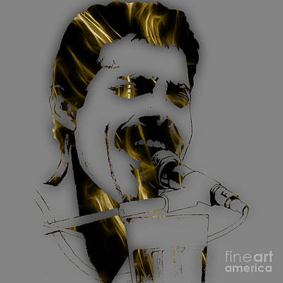 Pop Art Mixed Media - Freddie Mercury Queen Collection by Marvin Blaine