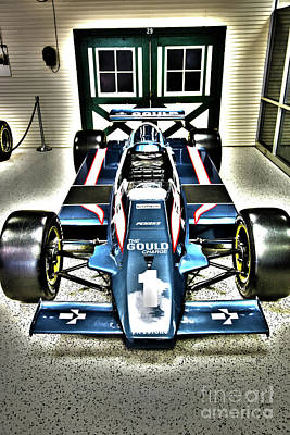 Fashion Paintings Rights Managed Images - Indy Race Car Museum Royalty-Free Image by ELITE IMAGE photography By Chad McDermott
