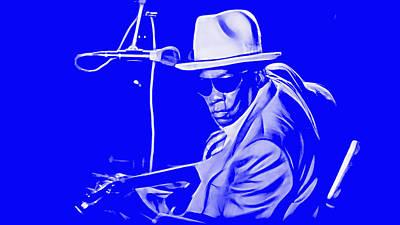 John Lee Hooker Collection Art Print