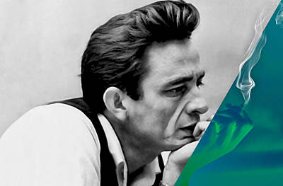 Photograph - Johnny Cash Collection by Marvin Blaine
