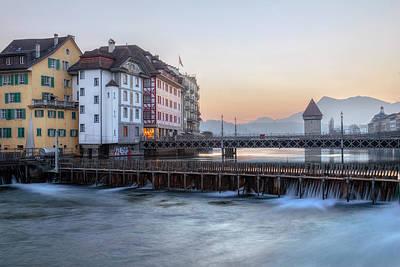 Lucerne - Switzerland Art Print by Joana Kruse