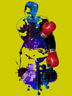 Boxing Mixed Media - Muhammad Ali Collection by Marvin Blaine
