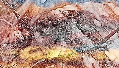 State Love Nancy Ingersoll - Native Birds by Tza Tzart