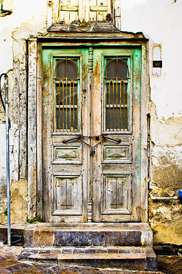 Old Door Art Print by Tom Gowanlock