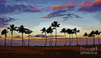 Photograph - 18 Palms All In A Row by Craig Wood