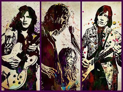 Pink Floyd Digital Art - Pink Floyd by Best Actors