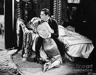 Silent Film Still: Couples Art Print by Granger