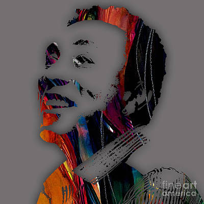 Soul Mixed Media - Smokey Robinson Collection by Marvin Blaine