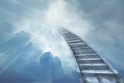 Digital Art - Stairway To Heaven by Les Cunliffe