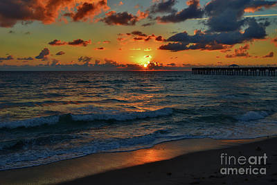 Photograph - 18- Sunrise At Juno Pier by Joseph Keane