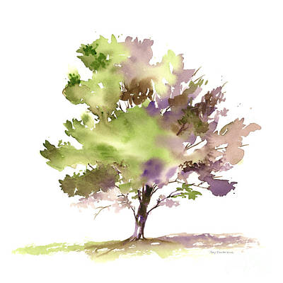 Painting - #18 Tree by Amy Kirkpatrick