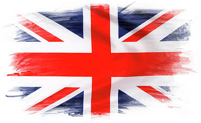 Photograph - Union Jack by Les Cunliffe