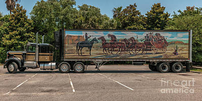 Photograph - 18 Wheels Of Trucking by Dale Powell