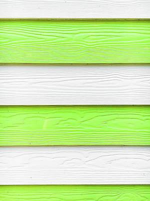 Wooden Panels Art Print