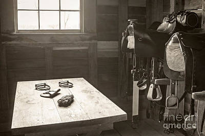 Photograph - 1800s Tack Room by Imagery by Charly