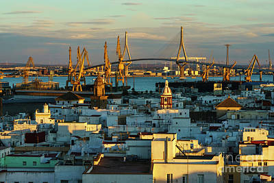 Photograph - 1812 Constitution Bridge From West Tower Cadiz Spain by Pablo Avanzini