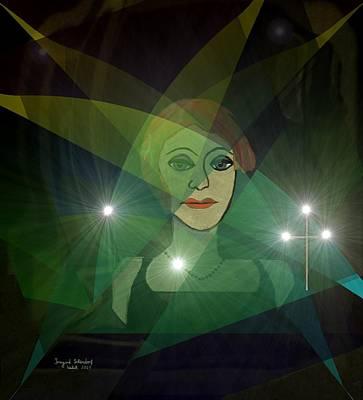 In Memory Of Digital Art - 183 - In Memory Of Renate G by Irmgard Schoendorf Welch