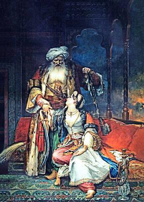 Painting - 1832 Ali Pacha by Munir Alawi