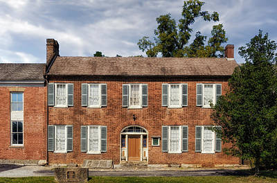 Photograph - 1850 Bardstown Kentucky Home - 1 by Frank J Benz