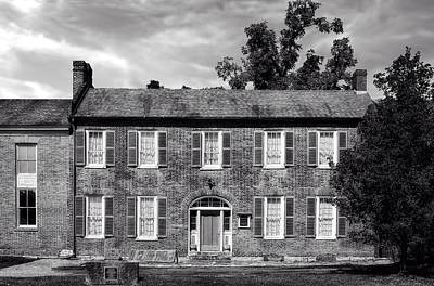 Photograph - 1850 Bardstown Kentucky Home - 2 by Frank J Benz