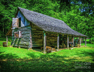 Photograph - 1850 Tool Barn by Nick Zelinsky