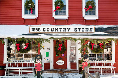 Photograph - 1856 Country Store by Susan Cole Kelly