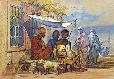 Painting - 1856 Painting by Munir Alawi