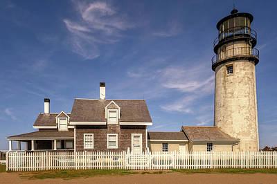 Photograph - 1857 Highland Light Station Cape Cod  -  1857highlandlight184964 by Frank J Benz
