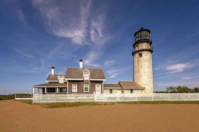 Photograph - 1857 Highland Lighthouse  -  1857highlandlightcapecod184957 by Frank J Benz
