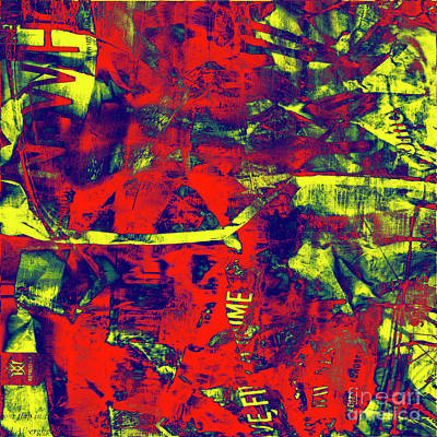 Digital Art - 1868 Abstract Thought by Chowdary V Arikatla