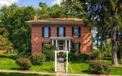 Photograph - 1869 Bigham House - 1 by Frank J Benz