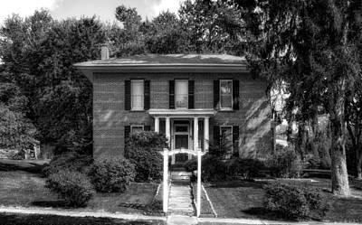 Photograph - 1869 Bigham House - 2 by Frank J Benz