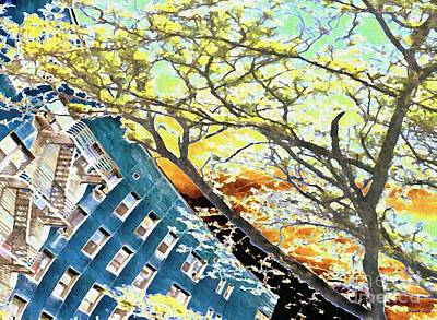 Fanciful Photograph - 187 Street Re-imagined by Sarah Loft